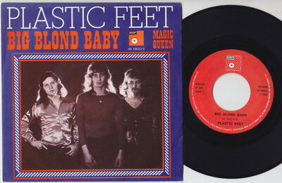 PLASTIC FEET * 1974 Dutch Heavy GLAM 45 * Listen!