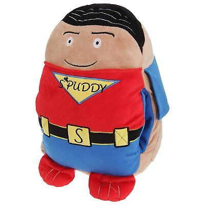 Superman Hero Spuddy Sofa Car TV Remote Beer Snack Cushion Holder Couch Potato