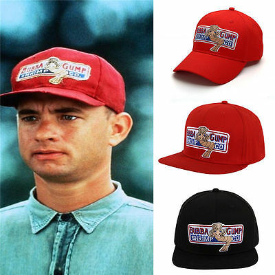New Bubba Gump Shrimp CO Hat Forrest Gump Costume Embroidered Snapback Cap Gift