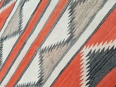 Native American rug or blanket with lovely design