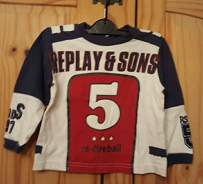 baby boys replay top age 12 months