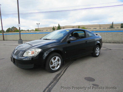 2007 Pontiac G5 2dr Coupe 2dr Coupe Manual Gasoline 2.2L 4 Cyl BLACK