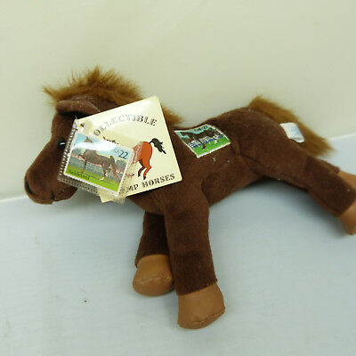 Nickel Store:  2002 Collectible Stamp Plush Horse (1)
