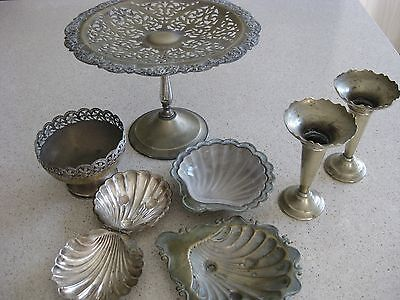 old silverplate high tea collection