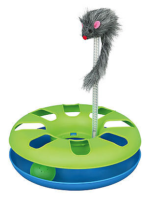 4135 Trixie Crazy Circle Catch The Ball Cat Toy  - Chasing & Playing Game
