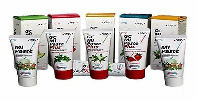 MI Paste Plus Single 40g tube 5 flavor choices with Recaldent Best Match GC