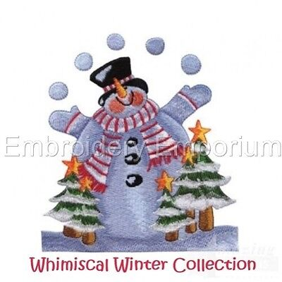 Whimsical Winter Collection - Machine Embroidery Designs On Cd
