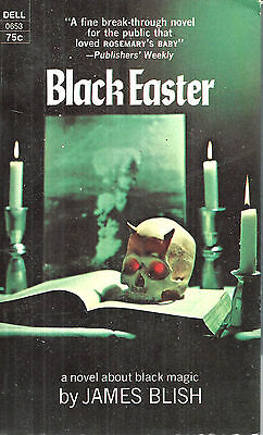 Black Easter by James Blish, Dell Books 1st edition paperback, July 1969