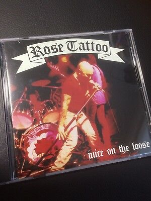 Rose Tattoo. Juice On The Loose Rare Live Cd Angry Anderson Guns And Roses Wells