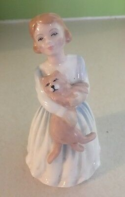 """Royal Doulton """"""""My First Pet""""Figurine"""