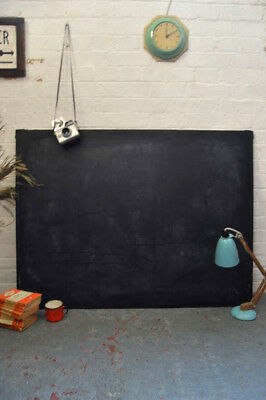 Vintage Industrial Old School Blackboard Chalkboard Noticeboard