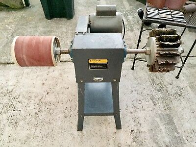 Sand-Rite Double Sided Pedestal Sander Clean and Works Great