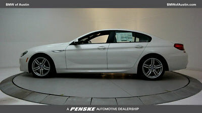 2018 BMW 6-Series 640i Gran Coupe 640i Gran Coupe 6 Series New 4 dr Automatic Gasoline 3.0L STRAIGHT 6 Cyl Alpine