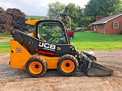 2015 Jcb 190 Eco Skid Steer Loader