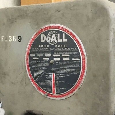 DoAll Used vertical band saw