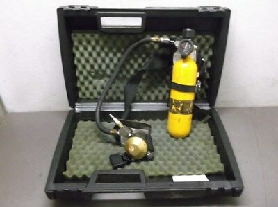 MSA Hip-Air Breathing Apparatus Tank, Regulator, and Harness