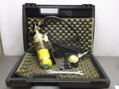 MSA Hip-Air Breathing Apparatus Tank, Harness, and Regulator