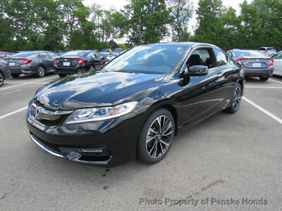 2017 Honda Accord EX Manual EX Manual New 2 dr Coupe Manual Gasoline 2.4L 4 Cyl Crystal Black Pearl