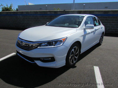 2017 Honda Accord EX-L V6 Automatic EX-L V6 Automatic New 4 dr Sedan Automatic Gasoline 3.5L V6 Cyl White Orchid Pea