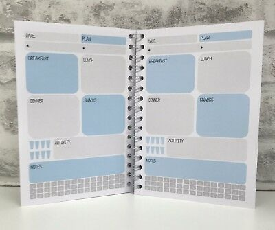 Diet Food Diary Slimming World Compatible Weight Loss Tracker Journal - Diary 7