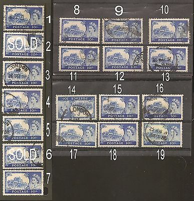 Great Britain 311 VF Used - Choose Yours , Pick your Number 19
