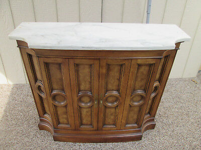 57075 Mastercraft Marble top Credenza Sideboard Server