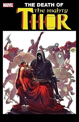 Preorder MIGHTY THOR #700 Death Lenticular Variant Marvel Legacy Comics NM 2017