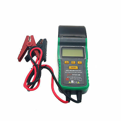 Car Battery Load Test 12V Battery Analyzer Professional Tool W/ Thermal Printer
