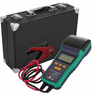 Car Battery Load Tester 12V Battery Analyzer Test With Printer