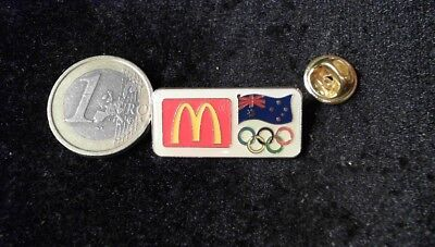 McDonalds Mc Donalds MCD Pin Badge Olympia Olympic Games Australia Sponsor