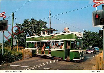 Picture Postcard- SEATON TRAMCAR
