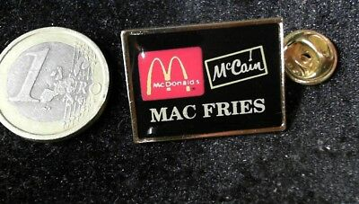 McDonalds Mc Donalds MCD Pin Badge McCain Mac Fries Pommes Partner