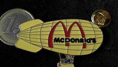 McDonalds Mc Donalds MCD Pin Badge Balloon Zeppelin groß big Logo