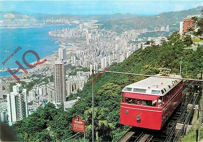 Picture Postcard: The Hong Kong Peak Tramway
