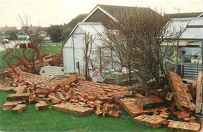 Picture Postcard: Worhing, Durrington The Great Storm Damage 1990
