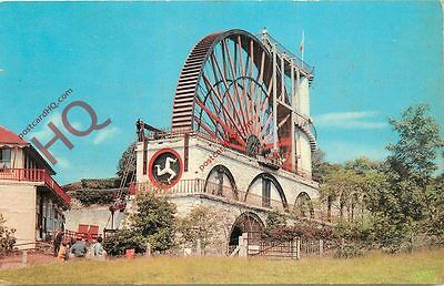 Picture Postcard::Isle of Man, Laxey Wheel