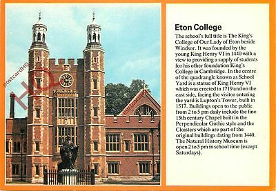 Picture Postcard::Eton College [Textview]