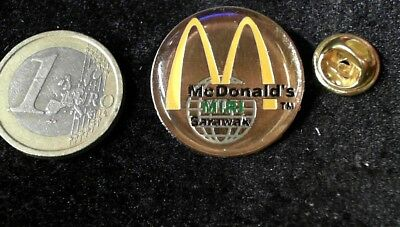 McDonalds Mc Donalds MCD Pin Badge Miri Sarawak Partner