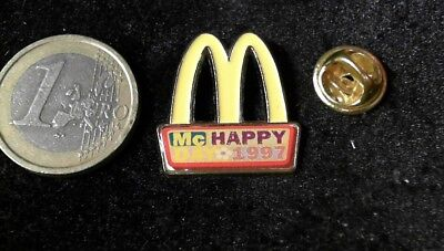McDonalds Mc Donalds MCD Pin Badge Happy Day M MC Happy 1997