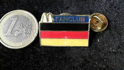 McDonalds Mc Donalds MCD Pin Badge Fanclub Germany Deutschland