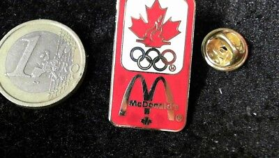 McDonalds Mc Donalds MCD Pin Badge Olympia Olympic Games Canada Sponsor