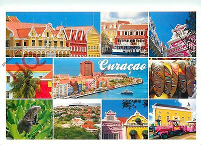 Picture Postcard-:Curacao (Multiview)