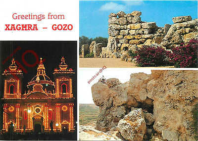Picture Postcard:-Gozo, Xaghra (Multiview)