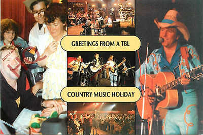Picture Postcard-:Greetings From A Tbl Country Music Holiday