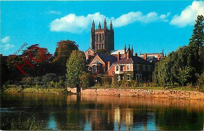 Picture Postcard:-Hereford, The Cathedral