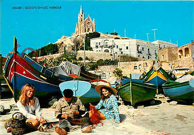 Picture Postcard-:Gozo, Mgarr Harbour