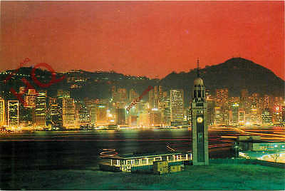 Picture Postcard:-Hong Kong, Night Scene