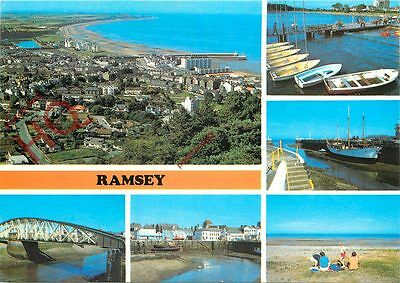 Picture Postcard:-Isle Of Man, Ramsey (Multiview)