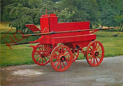 Picture Postcard:-MERRYWEATHER HORSE-DRAWN FIRE ENGINE, BUILT 1888