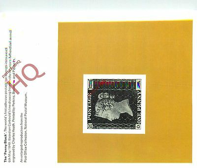 Picture Postcard-:National Postal Museum, The Penny Black Stamp